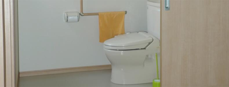 介護用トイレへ増築