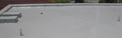 屋上防水やり替え(ウレタン塗膜防水)