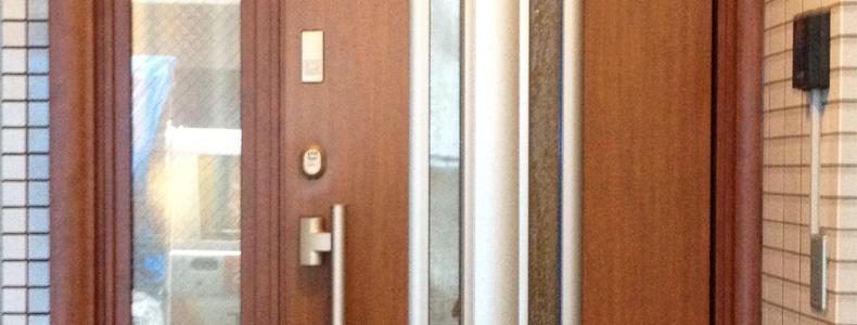 玄関ドア交換「カバー工法」