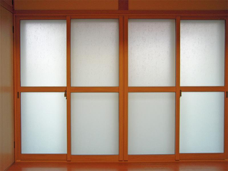 インプラス和紙調ガラス