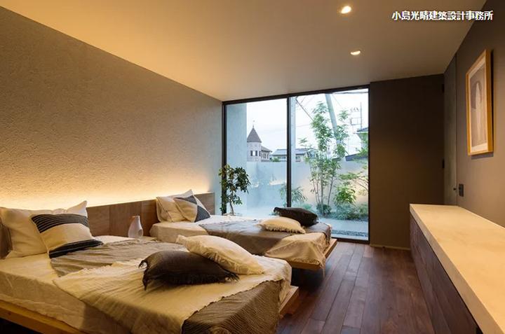 寝室は癒しの空間