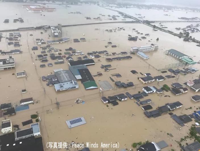 豪雨の被害状況