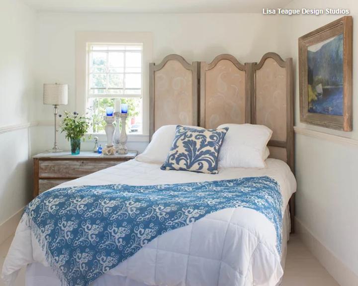 爽やかな寝室